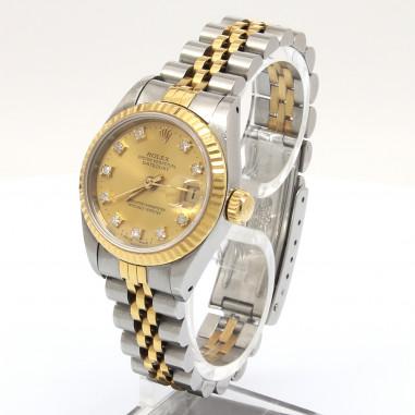Rolex Datejust Lady Stahl/Gold Dia