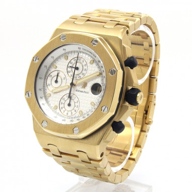 Royal Oak Offshore Chronograph Gelbgold