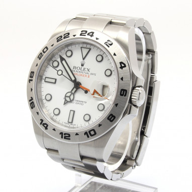 Rolex Explorer II 216570 Weiß