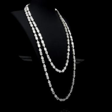 Multi-Shape Diamond Necklace