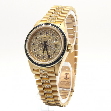 Rolex Datejust Lady AM Saphir/Diamond