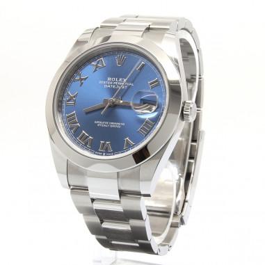 Rolex Datejust 41 Blue Roman 126300