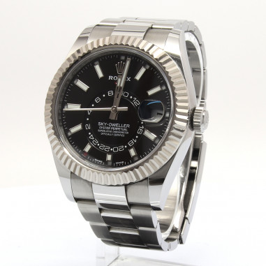 Rolex Sky-Dweller Black Index 326934