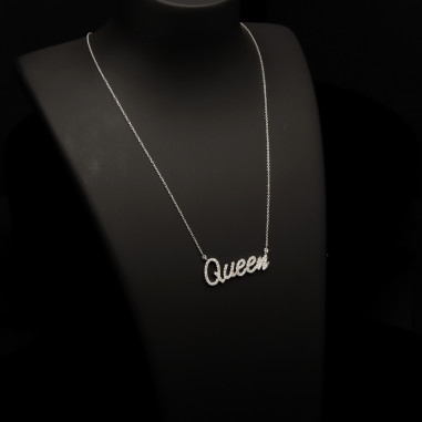 """""""You can call me QUEEN"""" Necklace"""