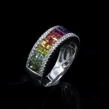 On the rainbow Ring
