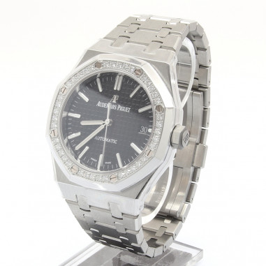 Audemars Piguet Royal Oak 37 Factory Diamond Bezel