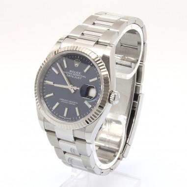 Rolex Datejust 36 Blue Index 126234