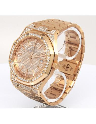 Audemars Piguet Royal Oak Rose Factory Diamonds