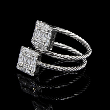 Double Mystique Diamond Ring