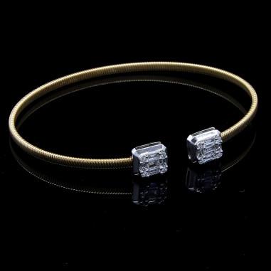 Single Mystique Diamond Bangle